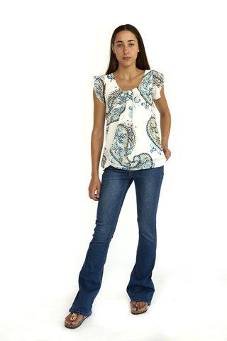 """Εικόνα της Γυναικεία Κοντομάνικη Μπλούζα """"Nellie"""""""