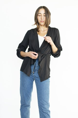 "Picture of Safari Jacket ""Julia"" in Black"