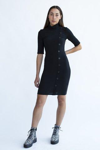 """Εικόνα της Φόρεμα """"Amanda"""" Μαύρο Χρώμα"""