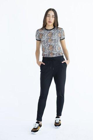 """Εικόνα της Γυναικείο Παντελόνι """"Jil"""" Μαύρο Χρώμα"""