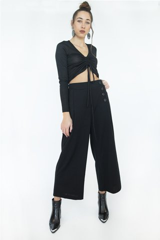 "Picture of Zip culotte ""Josie"" in Black"