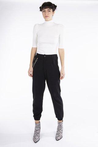 """Εικόνα της Γυναικείο Παντελόνι """"Sabrina"""" Μαύρο Χρώμα"""