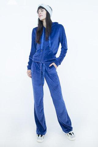 Picture of  Velvet Cardigan in Blue