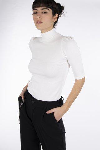 """Εικόνα της Γυναικεία Μπλούζα """"Tara"""" Λευκό Χρώμα"""