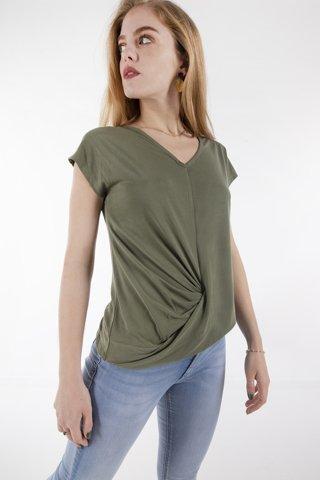 """Εικόνα της Γυναικεία Μπλούζα """"Kona"""" Χακί Χρώμα"""