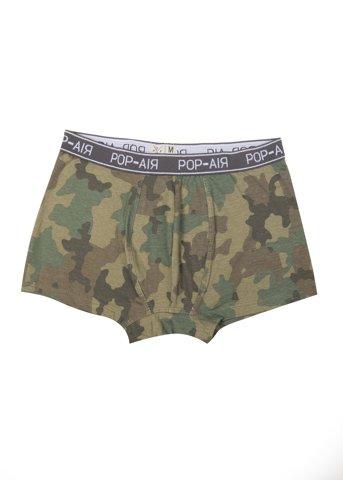 Εικόνα της Basic Boxer Shorts Army Χακί (pr.2)