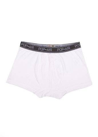 Εικόνα της Basic Boxer Shorts σε Λευκό Χρώμα