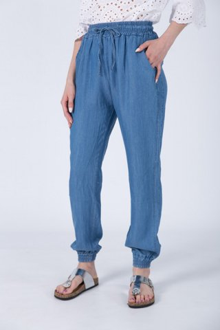 "Picture of Ladies Pant ""Resa"" Blue Light"