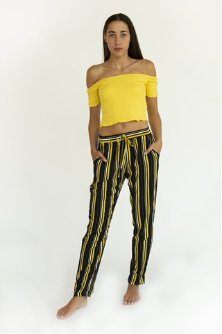 "Picture of Ladies Striped Trousers ""Ricky"""