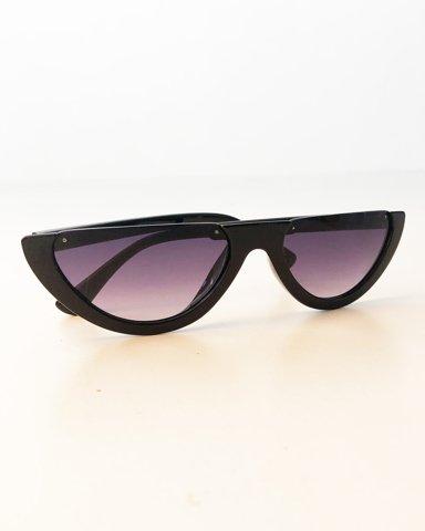 """Εικόνα της Γυναικεία γυαλιά ηλίου """"Kassy"""" σε χρώμα μαύρο"""