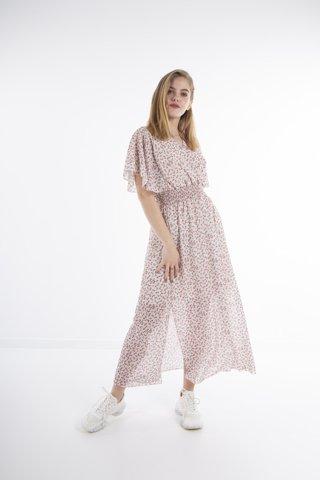 """Εικόνα της Maxi Φόρεμα """"Mirell"""" σε χρώμα Offwhite"""