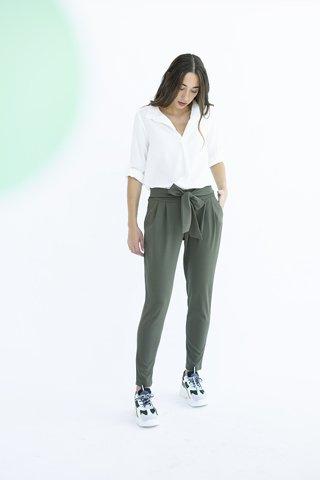 """Εικόνα της Γυναικείο Παντελόνι """"EMILIA"""" σε Χακί Χρώμα"""