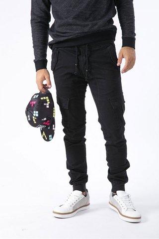 """Εικόνα της Cargo παντελόνι """"Maxwell"""" σε χρώμα Μαύρο"""