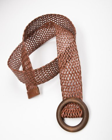 """Picture of Ladies Belt """"Tyra"""" in Camel"""