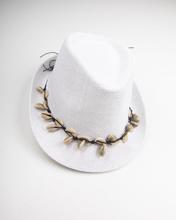 """Γυναικείο Καπέλο """"Annabella"""" σε Off-White Χρώμα"""