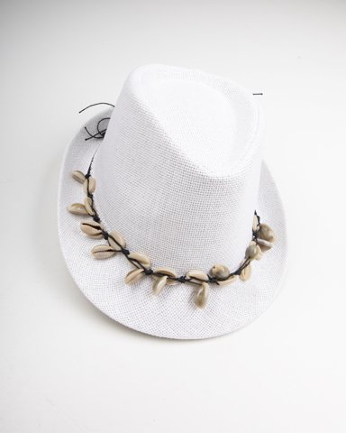 """Picture of Straw Hat """"Annabella"""" in Off-White"""