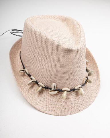 """Picture of Straw Hat """"Annabella"""" in Rose"""