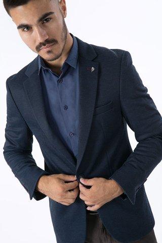 """Εικόνα της Ανδρικό Σακάκι """"Antony"""" σε Μπλε Χρώμα"""