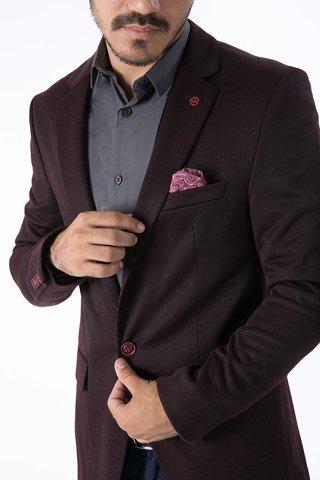 """Εικόνα της Ανδρικό Σακάκι """"Antony"""" σε Μπορντώ Χρώμα"""
