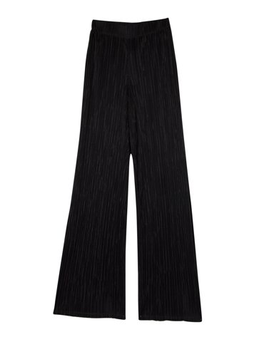Picture of Women's Wide-Legged Trousers Envy in Black