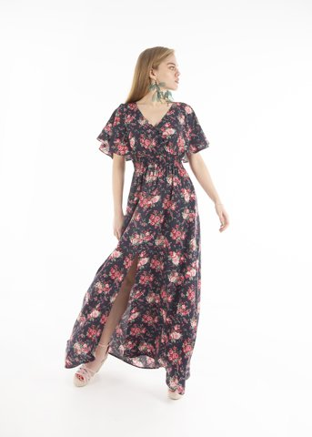 Picture of Maxi Floral Dress (print 1)