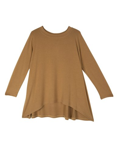 Picture of Women's Long Sleeve Blouse Envy in Camel
