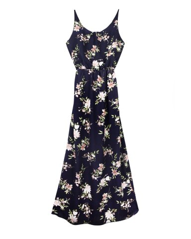 "Picture of Maxi Dress ""Doris"" in Blue Navy"