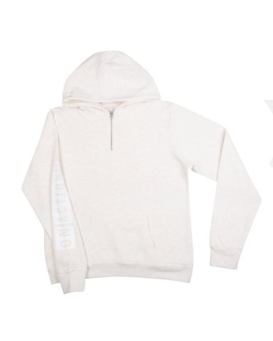 """Picture of Women's Hoodie """"Honour Over Glory"""" in Off-White"""