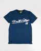 "Picture of Men's Short Sleeve ""Dvalley"" in Blue Navy"