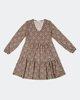 "Picture of Printed Mini Dress ""Vita"" in Black"