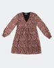 """Picture of Printed Midi Dress """"Silvia"""" in Brown"""