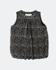 """Picture of Women's Polka Dot Top """"Dotty"""" in Black"""