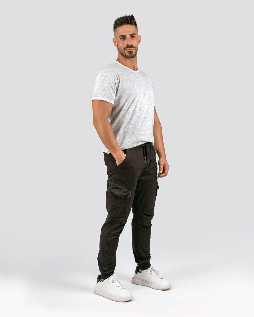 """Ανδρικό Κοντομάνικο T-Shirt """"Jamie"""" σε Χρώμα Χακί"""