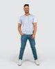 """Ανδρικό Κοντομάνικο T-Shirt """"Jamie"""" σε Χρώμα Σκούρο Μπλε"""