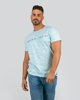 """Picture of Men's Short Sleeve """"Slogan"""" in Turquoise"""