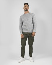 "Picture of Men's Cargo Jogging Trousers ""Donald"" in Khaki"