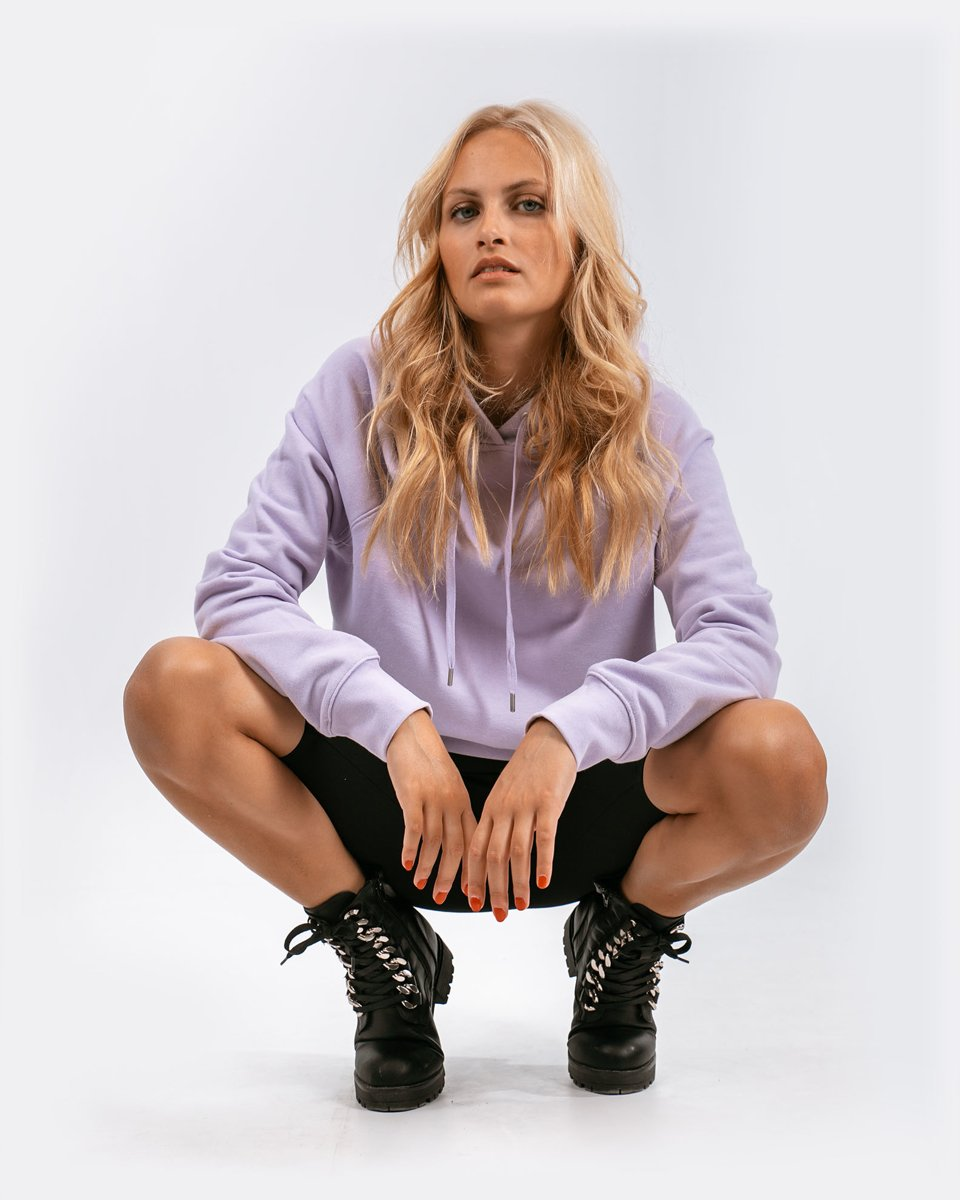 """Picture of Women's Hoodie """"Selin"""" in Lilac"""