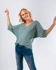 """Picture of Women's 3/4 Sleeve Sweater """"Verena"""" in Jade"""
