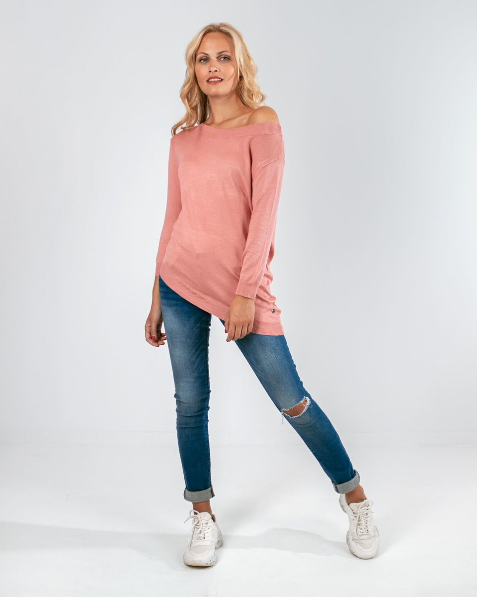 "Picture of Women's 3/4 Sleeve Blouse ""Carol"" in Rose"