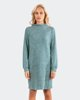 "Picture of Long Sleeve Dress ""Marisa"" in Jade Melange"