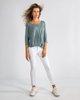 """Γυναικεία Μπλούζα 3/4 """"Mara"""" σε Χρώμα Βεραμάν"""
