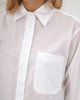 """Picture of Women's Long Sleeve Oversized Shirt """"Brooke"""" in White"""