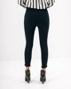 "Picture of Women's Elastic Trousers ""Sina"" in Blue Navy"