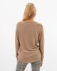 """Picture of Women's Long Sleeve Sweater """"Marin"""" in Camel"""