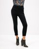 """Picture of Women's Elastic Trousers """"Sina"""" in Black"""