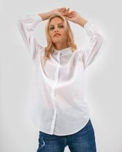 """Γυναικείο Πουκάμισο """"Alma"""" σε Λευκό Χρώμα"""