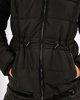 """Γυναικείο Μπουφάν με Συνθετική Γούνα """"Amber"""" Χρώμα  Μαύρο"""