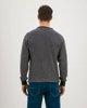 Picture of Men's Basic Sweater  in Indigo-Grey
