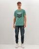 """Ανδρικό Κοντομάνικο T-Shirt """"Parts & Supplies"""" σε Χρώμα Τυρκουάζ"""