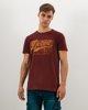"Picture of Men's Short Sleeve T-Shirt ""Detroit"" in Purple"